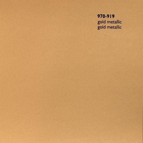 wrap folie Oracal 970 zlatá metalická